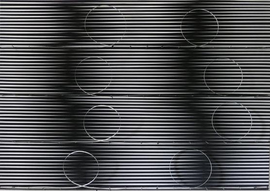 MOVE/ 8, Kinetisches Bild, 2019