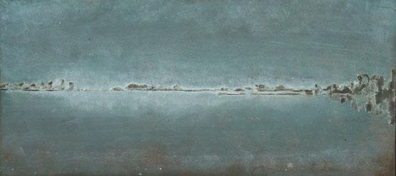 'FRIESLAND' BRONS GEPATINEERD (39,5x17,5 cm) fotografie Bart Dertien