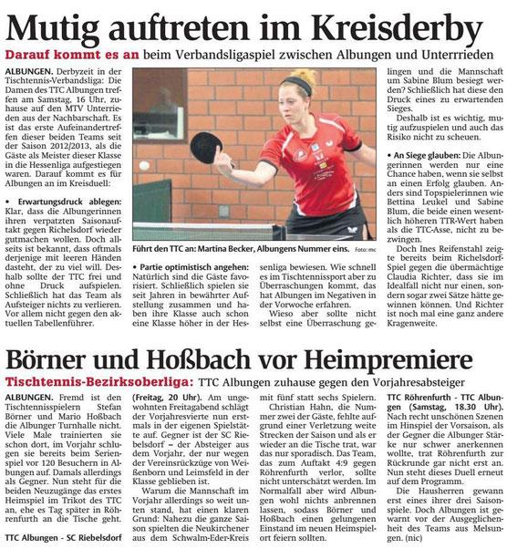 Werra-Rundschau vom 29.09.2016