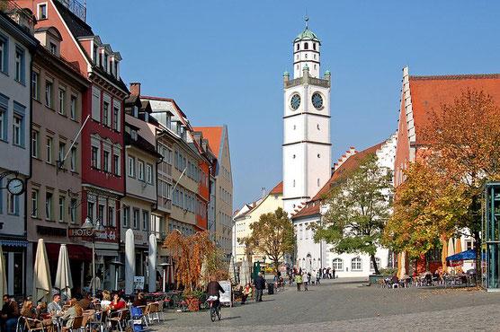 Ravensburg Blaserturm Waaghaus Rathaus