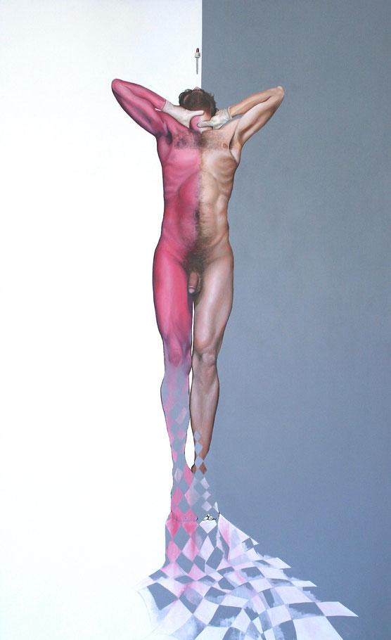 """Enjoy"", 2016, Öl, Leinwand, 250 x 155cm"