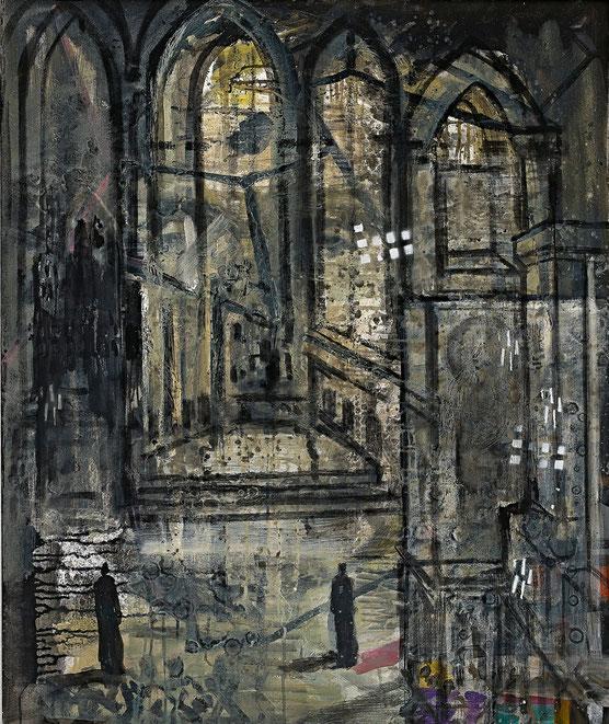 Ort der Stille · 2015 · 800 x 1.000 mm · Öl auf Leinwand
