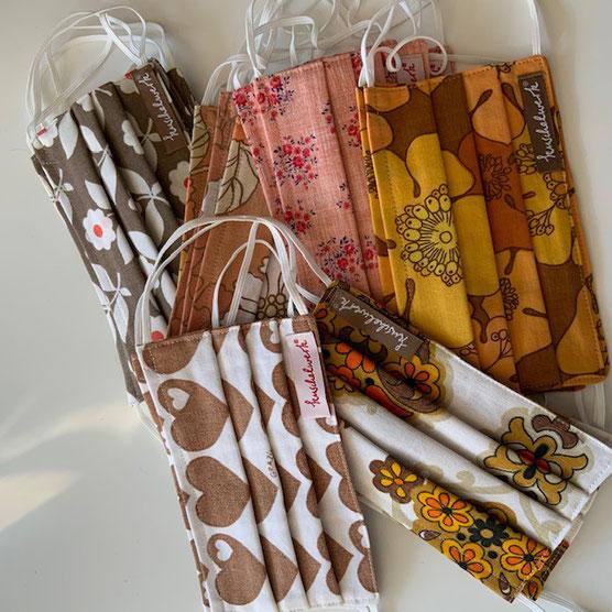 trendige Farben für die kuschelwerk Stoffmasken - jetzt im Online Shop verfügbar.