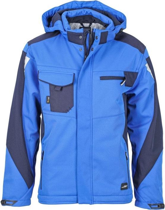 Workwear Winter Softshell Jacke besticken, bedrucken lassen, Arbeitsbekleidung, Steiermark, Wind- und wasserabweisend, XS–6XL