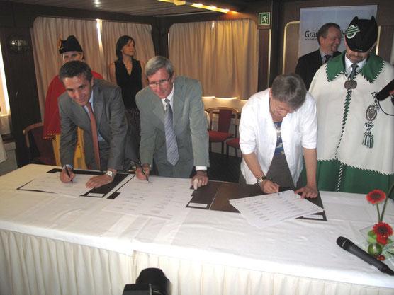 Signature du PA2 (Image extraite du site officiel du Grand Genève)