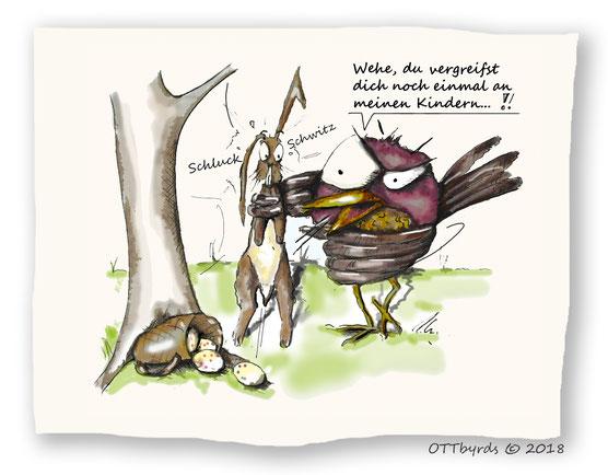 Ostern,eastern, ostereier,osterhase,easter bunny, ottbyrds, schräge Vögel,berufsrisiko