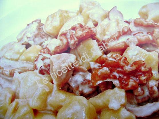 Ricetta: Gnocchi ai funghi e noci