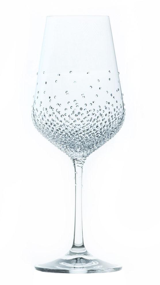 Weinglas Amon veredelt mit Swarovski