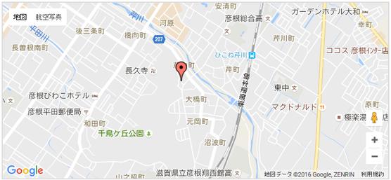 七曲がり仏壇街 地図