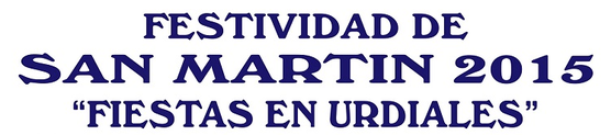 Fiestas de San Martín en Castro Urdiales 2015 Programa