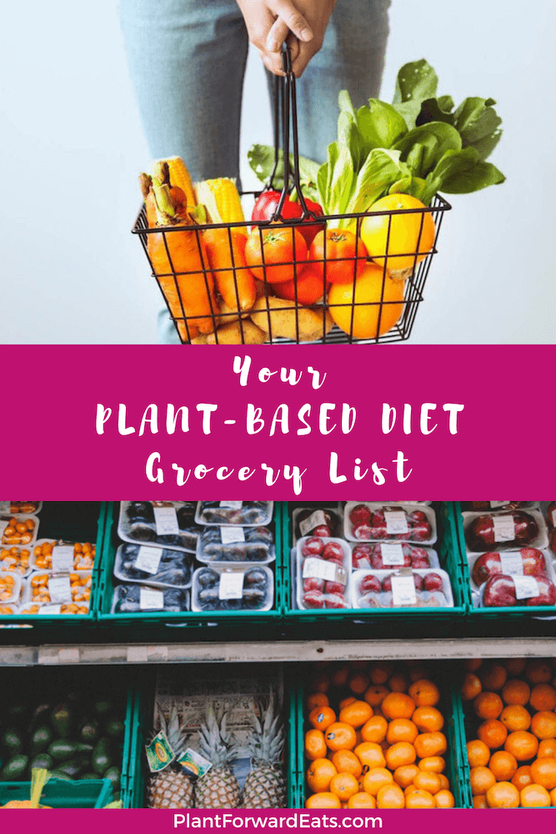 Want a grocery list on a budget? How about one for a plant-based diet and vegetarian meals? Shopping lists are easy to make when you have help! #plantbased #vegetarian #vegan #grocerylist #groceries #shoppinglist #foodlist #amyseatlist #mealplanning