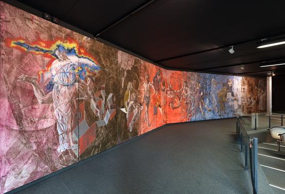 Wandbild von Hans Erni Panta rhei - alles fliesst
