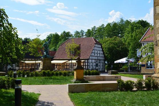Steinhagener Kirchplatz © pro Wirtschaft GT GmbH