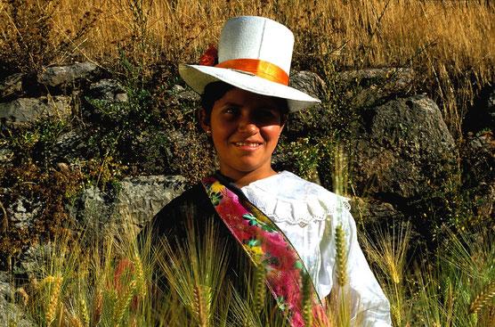 Begegnungen mit der Andenbevölkerung auf der Reise
