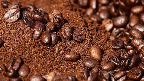 caffè macinato e in grani