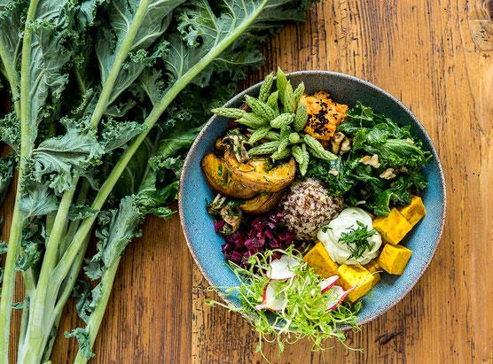 Buddha Bowl Kochstudio Bilou Foodblog Kochkurs