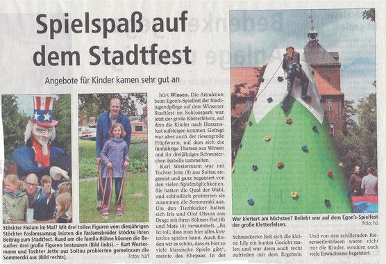 Winsener Anzeiger, 31.05.2014
