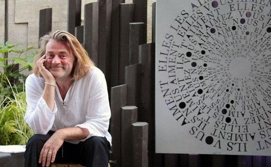 """Franck Chastanier à l'exposition Jardins-jardin 2015 / """"Ô Jardin de l'être"""""""