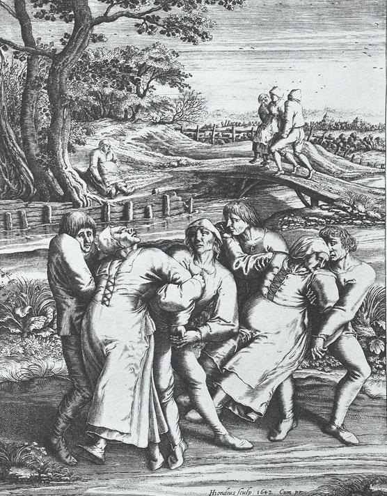 Tanzwut Mittelalter Seuche Epidemie mysteriös mystisch tanz tanzen