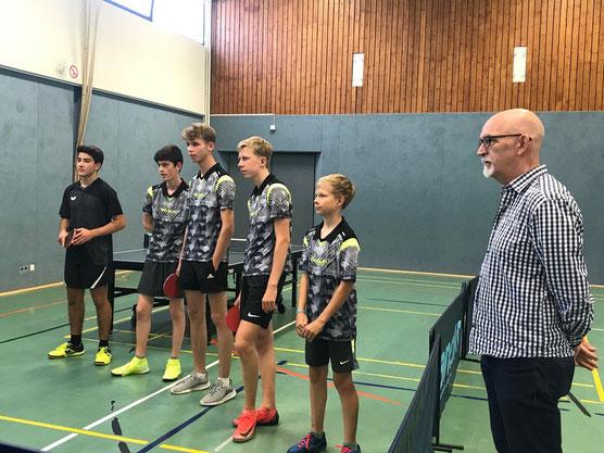 Die Mannschaft aus Steinbeck-Meilsen reiste aus Niedersachsen zum Freundschaftsspiel an.