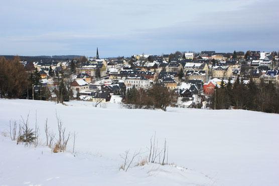 Altenberg im März 2016