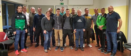 Die Teilnehmer des Trainerworkshops