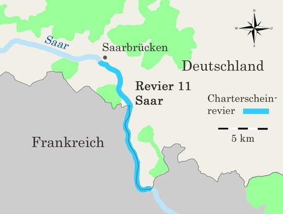 Charterscheinrevier Saar