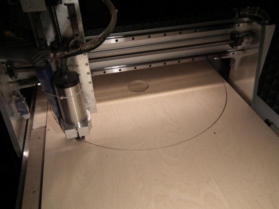 Zuschnitt von Holzkreisen bis 110 cm Durchmesser
