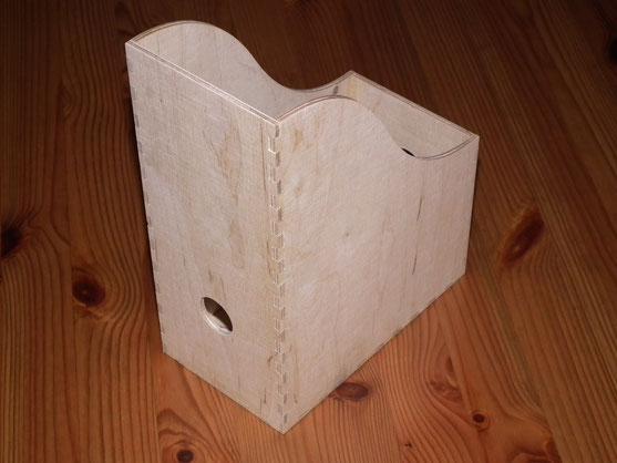 Stehsammler  A5 aus Birkensperrholz 4mm stark
