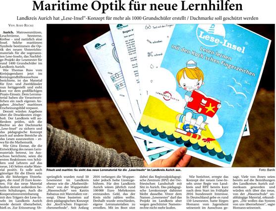 Ostfriesische Nachrichten 12.9.2017