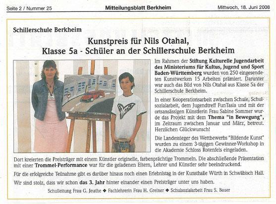 Mitteilungsblatt Berkheim Juni 2008