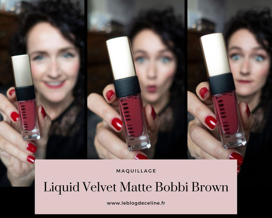 rouge liquide matte bobbi brown avis