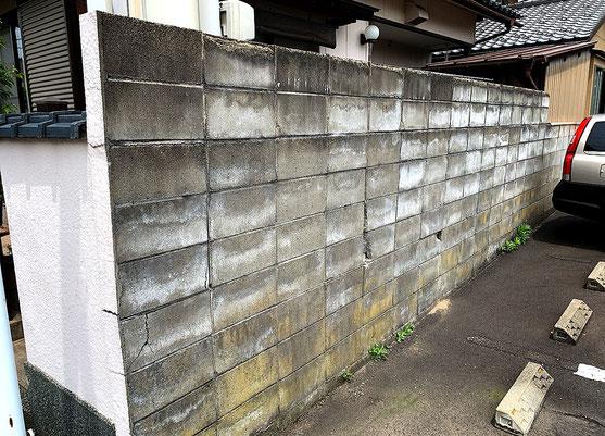 ブロック塀リフォ-ム
