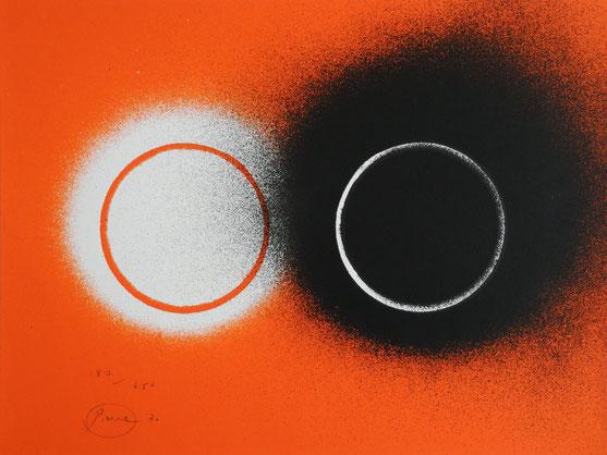 Otto Piene, Zero, Eclipse, signiert
