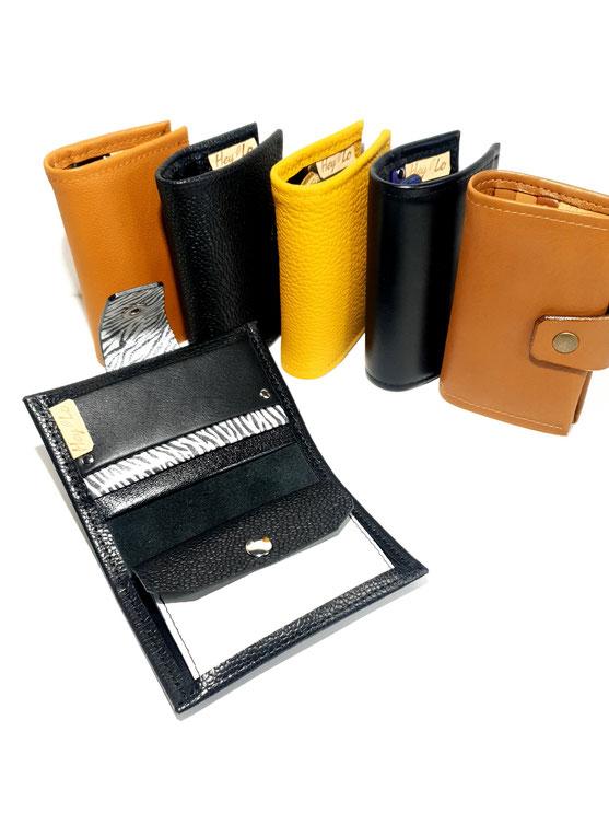 Portefeuille-cuir-cartes-monnaie-création-lyon