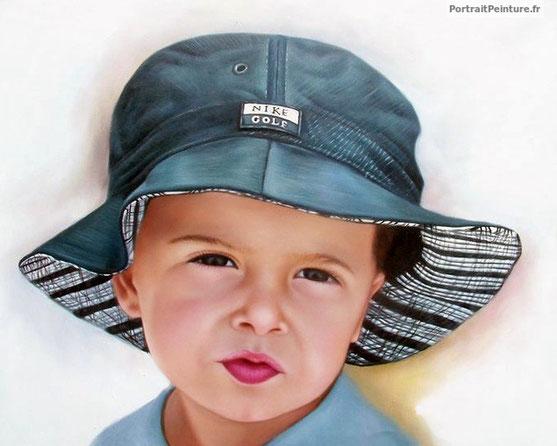 portrait-enfant-peinture-photo