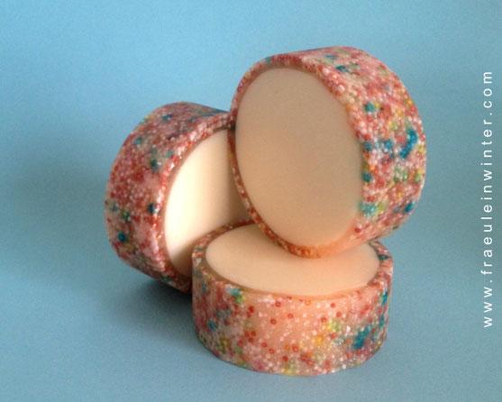 Rimmed soap - Seife mit Zuckerperlen