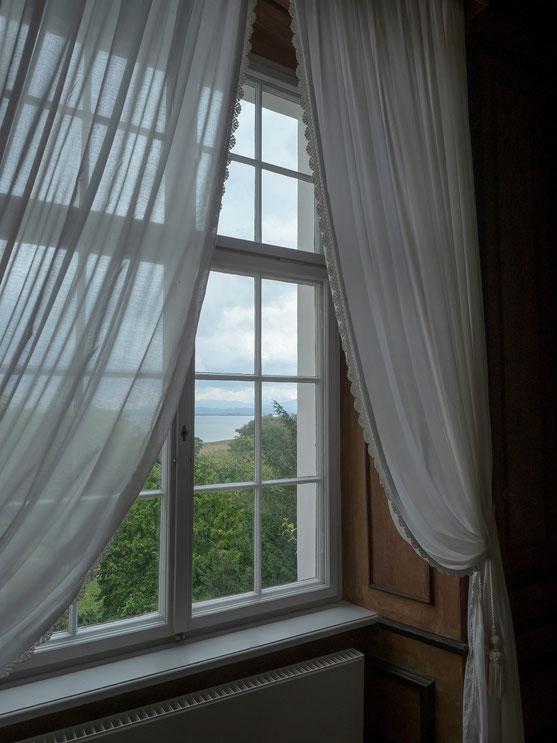 Eines der Fenster des Verfassungszimmers