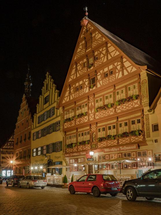 """Das Hotel """"Deutsches Haus"""" ist das ehemalige Rathaus und wohl prächtigste Haus der Stadt."""