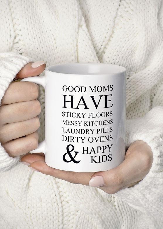 Bedruckte Tasse Good Mums