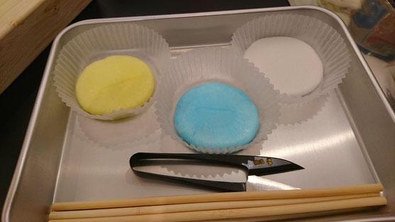 レモン、ソーダ、バニラの3色を選びました