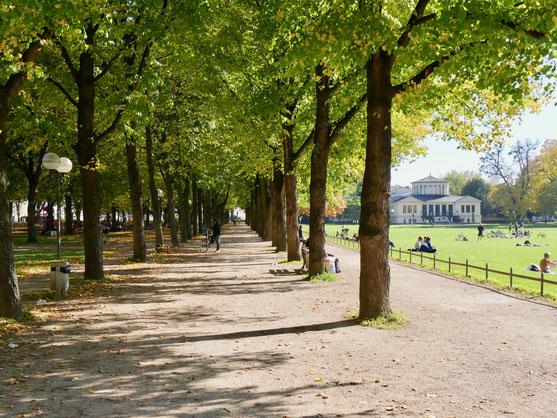 Bonn Hofgarten Friedrich Wilhelms Universität  Pavillon Antike Künste