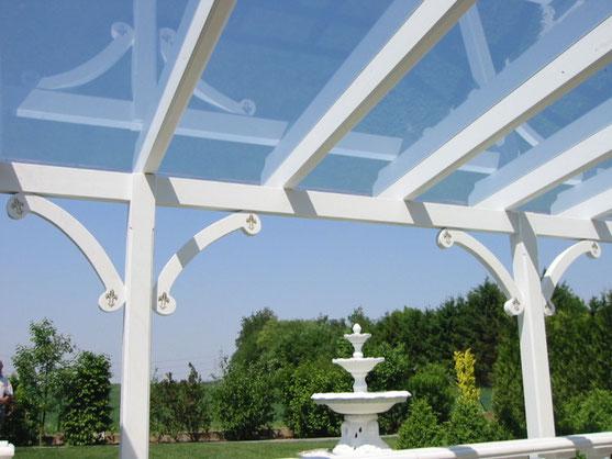 Luxus Glasterrassendach Modell Köln Glasdach Lux-1000 Terrassendach, Terrassenüberdachung