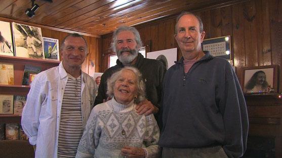 Gary Kleiner, Daniel, Adele Wolkin & Andy Lesnik at Sheriar Press