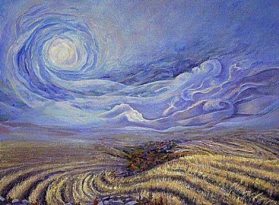 "Vincent Van Gogh, ""Il vento"" (1890)"