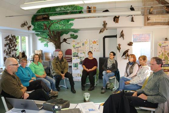 Die Fürstenwaldschule wird auch für Schulungen der SDW genutzt