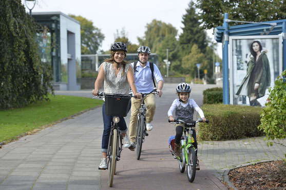 Auf dem Rad unterwegs in Bielefeld © Bielefeld Marketing GmbH