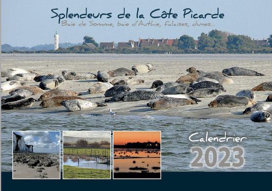 Couverture du calendrier Côte Picarde 2021
