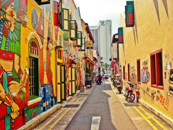 Haji Lane la rue du Street Art