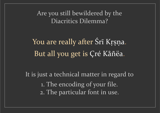 DiacritcsDilemma